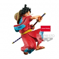 One Piece - Statuette King Of Artist Monkey D. Luffy Wanokuni 16 cm