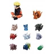 Naruto - Pack 11 figurines Naruto & Bijuu 3 - 7 cm