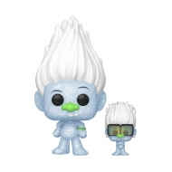 Trolls World Tour - Figurine POP! Hip Hop Guy (Diamond Glitter) w/ Tiny 9 cm