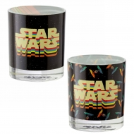 Star Wars - Pack 2 verres Retro Vehicles