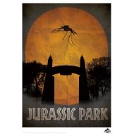 Jurassic Park - Lithographie Gate 42 x 30 cm