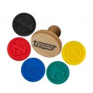 Justice League - Tampons pour biscuits Logos Justice League
