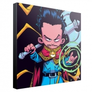 Marvel - Tableau en bois Doctor Strange by Skottie Young 30 x 30 cm