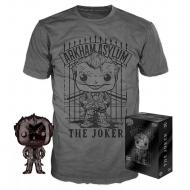 DC Comics -Set figurine et T-Shirt  POP! & Tee The Joker heo Exclusive