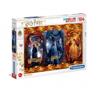 Harry Potter - Puzzle Super Color Harry, Ron & Hermione