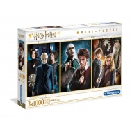 Harry Potter - Pack 3 Puzzles Characters