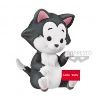 Disney - Figurine Cutte! Fluffy Puffy Figaro 4 cm