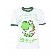 Nintendo - T-Shirt femme Yoshi's Adventure