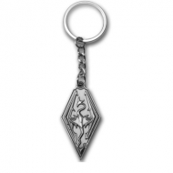 The Elder Scrolls V Skyrim - Porte-clés métal Dragon Symbol