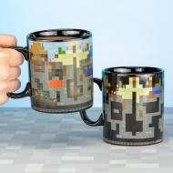 Minecraft - Mug effet thermique Minecraft
