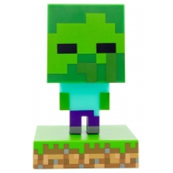 Minecraft - Veilleuse 3D Icon Zombie