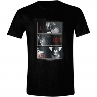 Death Note - T-Shirt L, Light, Ryuk