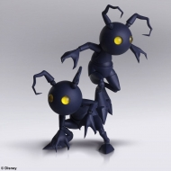 Kingdom Hearts III Bring Arts - Figurines set 2 Shadow 10 cm