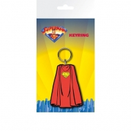 Superman - Porte-clés caoutchouc Superman Cape 7 cm