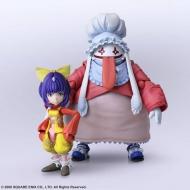 Final Fantasy IX - Figurines Bring Arts Eiko Carol & Quina Quen 9 - 14 cm