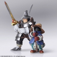 Final Fantasy IX - Figurines Bring Arts Vivi Ornitier & Adelbert Steiner 10 - 15 cm