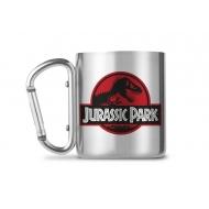 Jurassic Park - Mug Carabiner Logo Jurassic Park