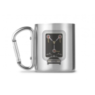 Retour vers le futur - Mug Carabiner Flux