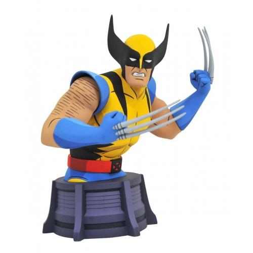 X-Men Animated Series - Buste Wolverine 15 cm