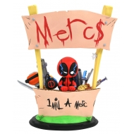 Marvel Animated - Statuette Deadpool Merc For Hire 20 cm