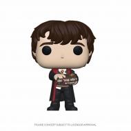 Harry Potter - Figurine POP! Neville w/Monster Book 9 cm