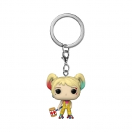 Les Anges de la nuit - Porte-clés Pocket POP! Harley Quinn (Boobytrap Battle) 4 cm