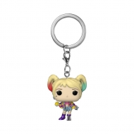 Les Anges de la nuit - Porte-clés Pocket POP! Harley Quinn (Caution Tape) 4 cm