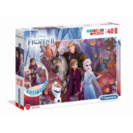 Disney - Puzzle de Sol La Reine des neiges 2