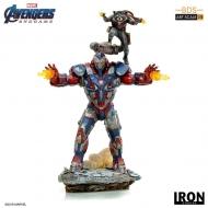 Avengers : Endgame - Statuette BDS Art Scale 1/10 Iron Patriot & Rocket 28 cm