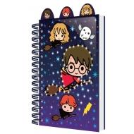 Harry Potter - Carnet de notes lumineux A5 Chibi Characters