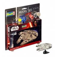 Star Wars - Maquette 1/241 Model Set Millennium Falcon 10 cm