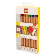 LEGO - Pack 12 crayons de couleur Topper