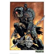 Predator - Lithographie Predator Comic 42 x 30 cm