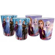 La Reine des neiges 2 - Pack 4 gobelets La Reine des neiges 2