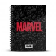 Marvel - Carnet de notes A4 Logo Marvel