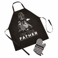 Star Wars - Tablier Fathers Day avec gant I Am Your Father