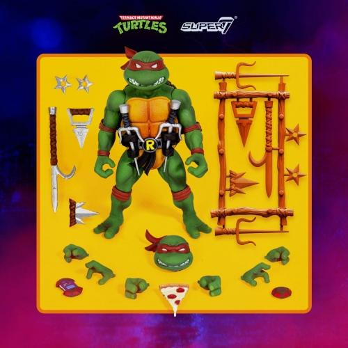 Les Tortues ninja - Figurine Ultimates Raphael 18 cm