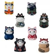 Naruto Shippuden Nyaruto! - Assortiment 8 trading figures Cats of Konoha Village 3 cm