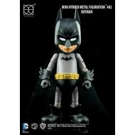 Justice League - Mini figurine Hybrid Metal Batman 9 cm