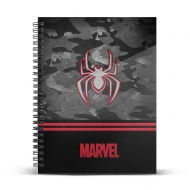 Marvel - Carnet de notes A4 Spider-Man Dark