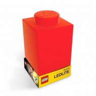 Veilleuse Pièce de Lego Rouge.