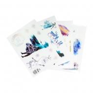 La Reine des neiges 2 - Set 49 autocollants vinyle Iconic Characters