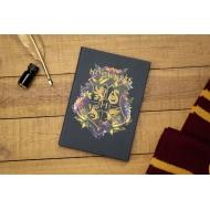 Harry Potter - Cahier relié Hogwarts Floral