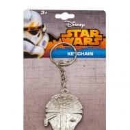 Star Wars Episode VII - Porte-clés métal Millenium Falcon