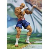 Street Fighter - Figurine S.H. Figuarts Sagat Tamashii Web Exclusive 17 cm
