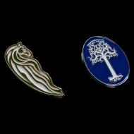 Le Seigneur des Anneaux - Pack 2 pin's Rohan Horse & White Tree