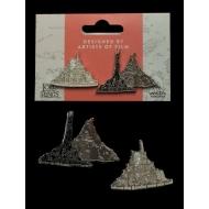 Le Seigneur des Anneaux - Pack 2 pin's Minas Tirith & Mt. Doom