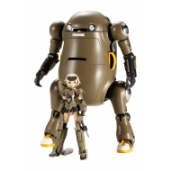 Frame Arms Girl - Figurine Plastic Model Kit Handscale Girl Gourai with MechatroWeGo Brown 13 cm