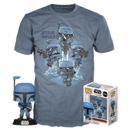 Star Wars The Mandalorian - Figurine POP! et T-Shirt The Mandalorian
