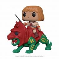 Les Maîtres de l'Univers - Figurine POP! He-Man on Battle Cat 18 cm